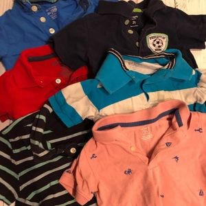 Other - BOYS 24MO/2T 6PC POLO BUNDLE